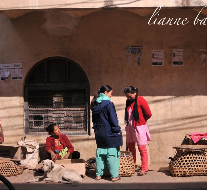 Nepal - street shots and Himalayas