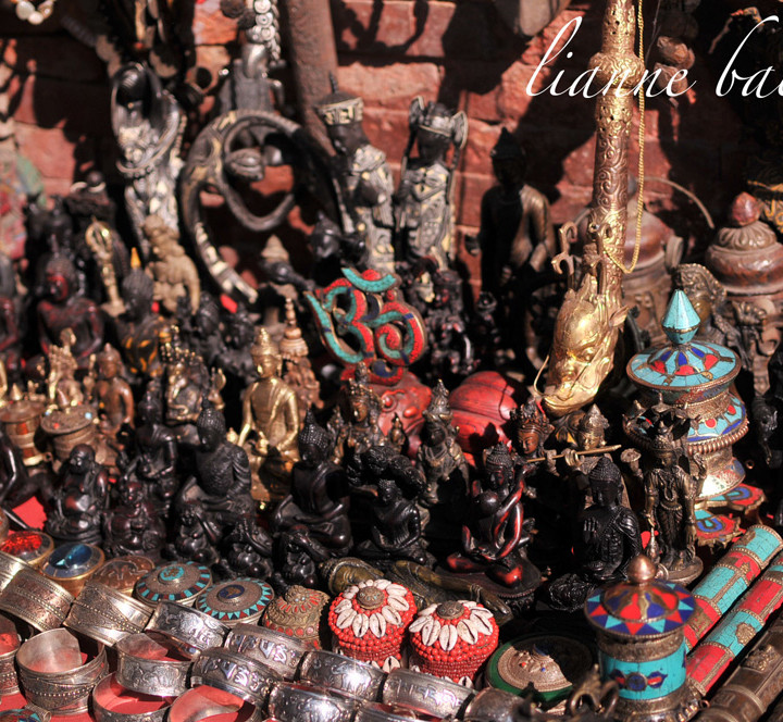 Nepal - goods at Durbar Square