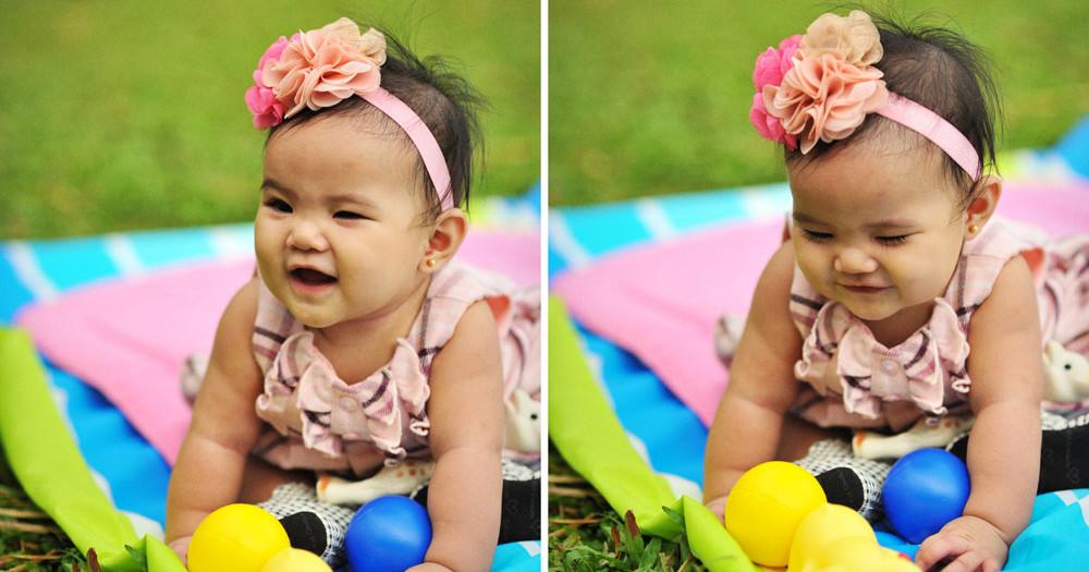 Baby Ellie at La Mesa Ecopark