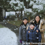 Snow in Maryland - family portraits - Lianne Bacorro Photography-30