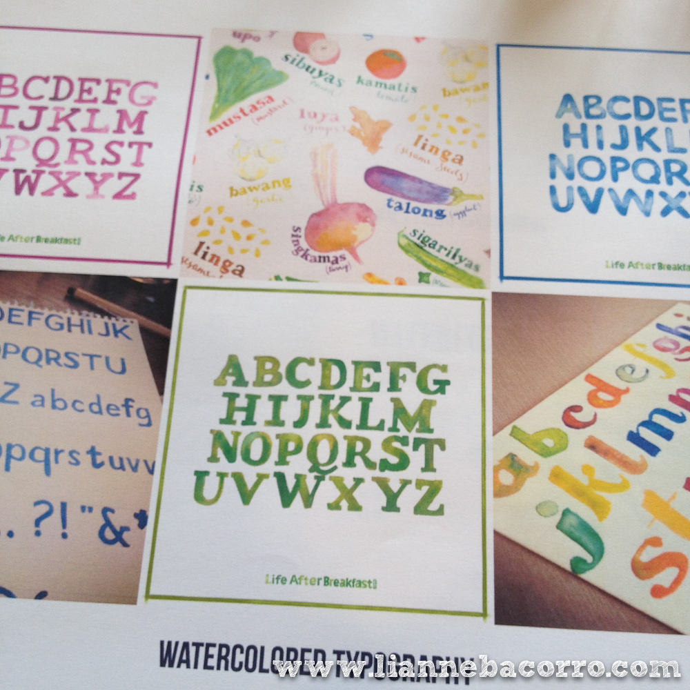 Watercolor Lettering - Lianne Bacorro - Alessa Lanot - Life After Breakfast-7