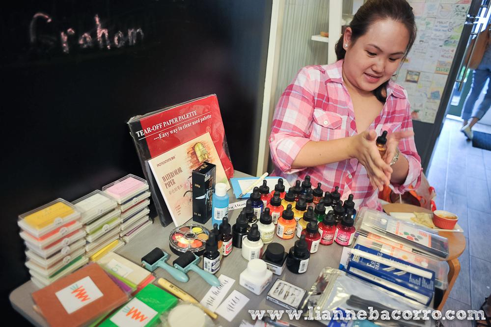 Watercolor Lettering Workshop - Life After Breakfast - Alessa Lanot - Lianne Bacorro - blog-10