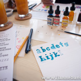 Watercolor Lettering Workshop - Life After Breakfast - Alessa Lanot - Lianne Bacorro - blog