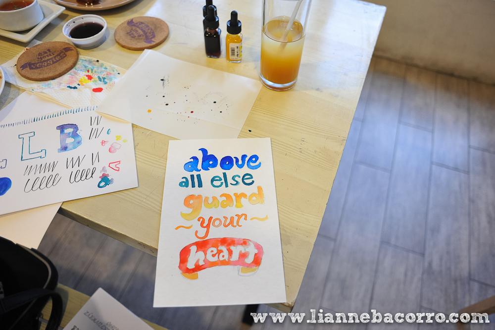 Watercolor Lettering Workshop - Life After Breakfast - Alessa Lanot - Lianne Bacorro - blog-17