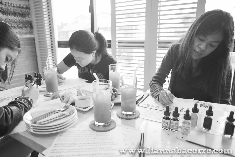 Watercolor Lettering Workshop - Life After Breakfast - Alessa Lanot - Lianne Bacorro - blog-3