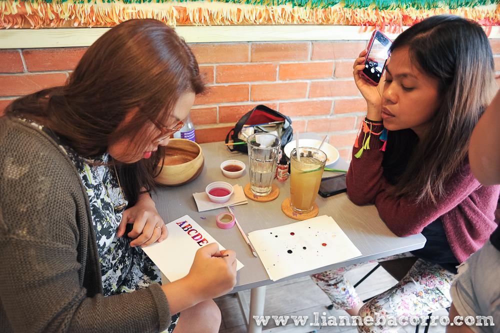 Watercolor Lettering Workshop - Life After Breakfast - Alessa Lanot - Lianne Bacorro - blog-7