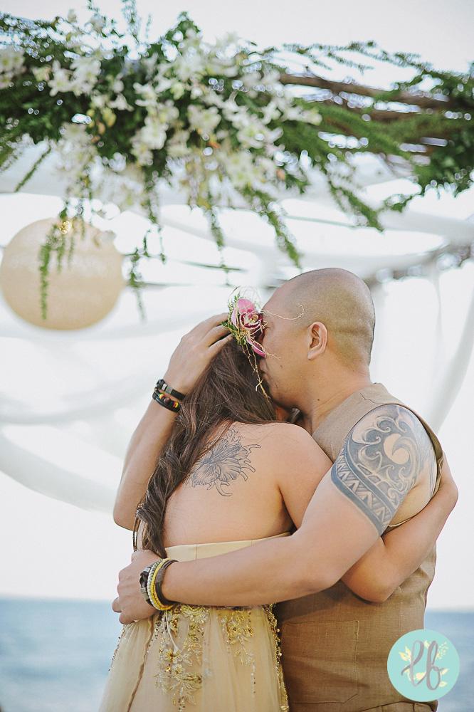 Arlene and Garry - beach wedding - Kota Keluerga - Lianne Bacorro wedding photography-4