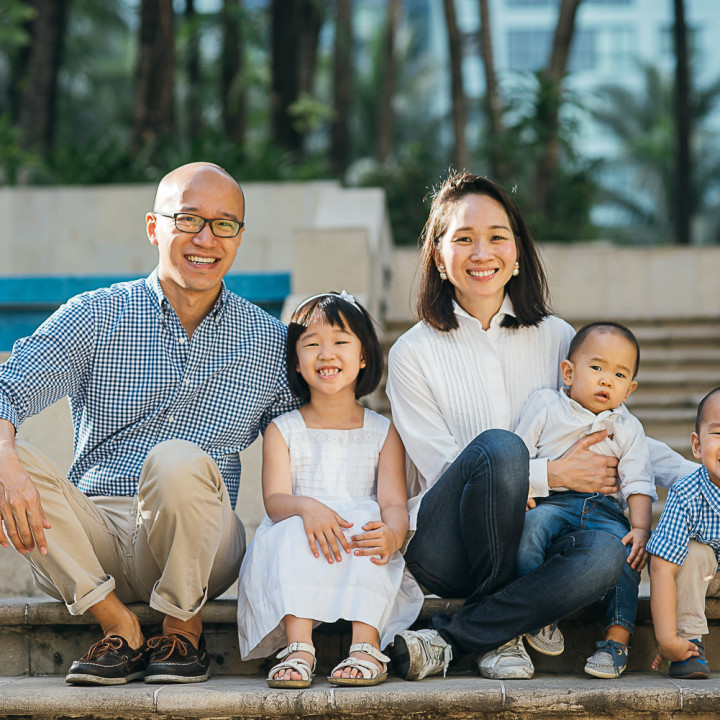 Dychiao Family - Lifestyle Portrait Session