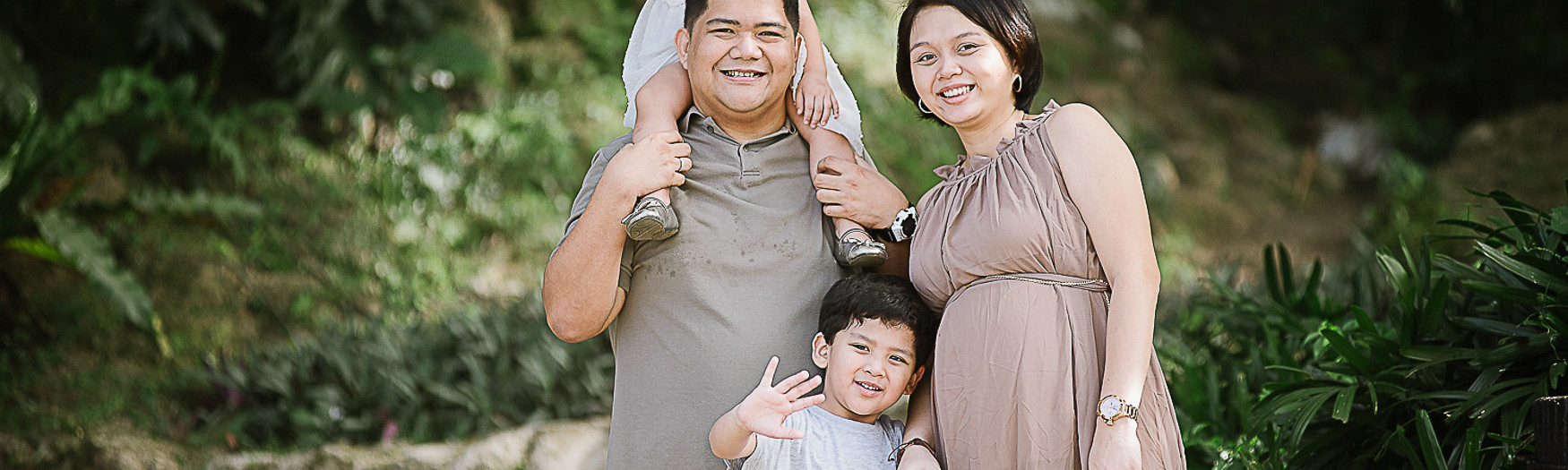 Tan Family - Maternity Portrait Session