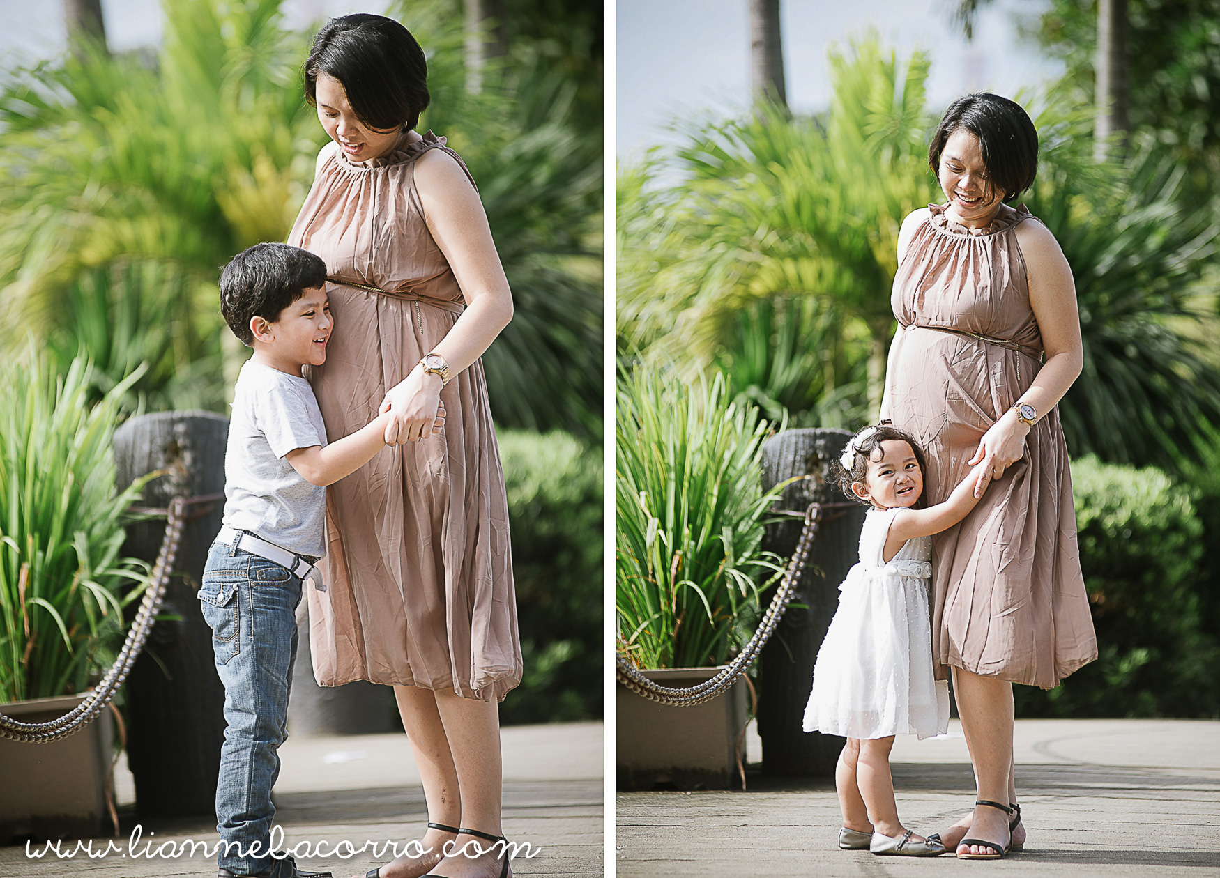 Lifestyle Maternity Family Photography by Lianne Bacorro