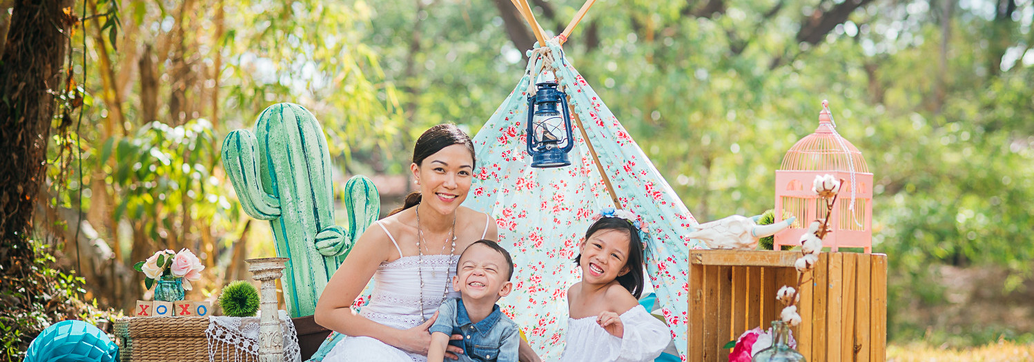 Geli Family - Styled Family Portrait Session