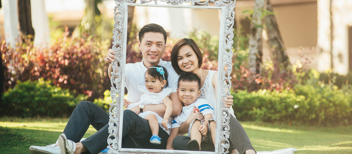 Inocencio Family - Styled and Lifestyle Family Portrait Session