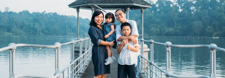 Jimenez Family - Family Portrait Session at MacRitchie Reservoir, Singapore