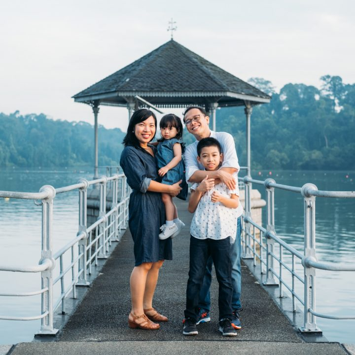 Jimenez Family - Family Portrait Session at MacRitchie Reservoir, Singapore