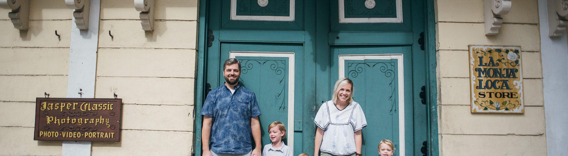 Folkman Family - Intramuros Portrait Session